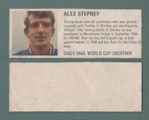 England Alex Stepney Manchester United DM70